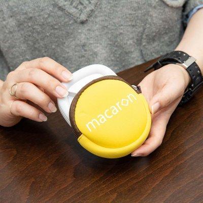 画像1: 【マカロン】鏡付き自撮りLEDライト macaron