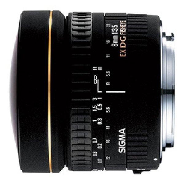 画像1: SIGMA 8mm F3.5 EX DG CIRCULAR FISHEYE 【ニコン用】 (1)