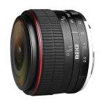 画像1: MEIKE 6.5mm F2.0 FISHEYE 【ミラーレス用 魚眼レンズ 画角190°】 (1)