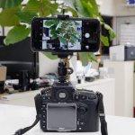 画像3: カメラにスマホをマウントして動画も一緒に撮影するセット【送料無料】 (3)