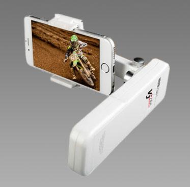 画像1: 最新スマートフォン対応!! 2軸電子制御スタビライザー  VJスマホジンバル イージーKiss(アウトレット品) (1)