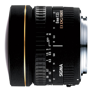 画像1: SIGMA 8mm F3.5 EX DG CIRCULAR FISHEYE 【キャノン用】 (1)