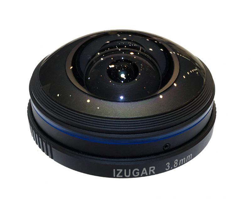 画像1: iZugar MKX200 3.8mm f/2.8-ASPH 【マイクロフォーサーズ用 円周魚眼レンズ 】 (1)