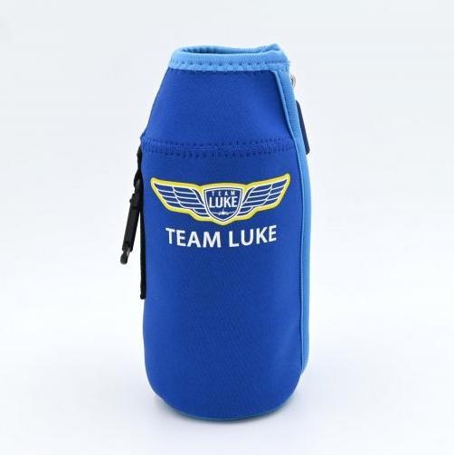 画像1: TEAM LUKE  ペットボトルホルダー カラビナ付き ルークオザワ (1)