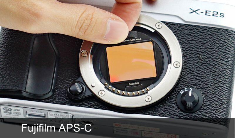 画像1: STC社製 Fujifilm APS-C用クリップフィルター (1)