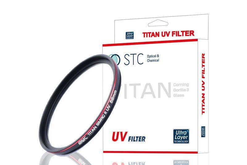 画像1: STC社製 高強度レンズ保護フィルター タイタン UVフィルター (1)